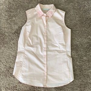 Pink Business Top